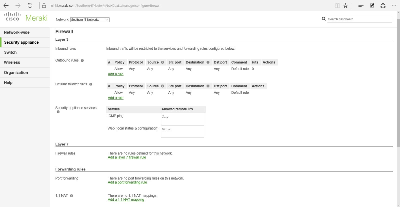 Demo Lab Configure A Meraki Network Slashadmin Life In It Switch Symbols And Cisco