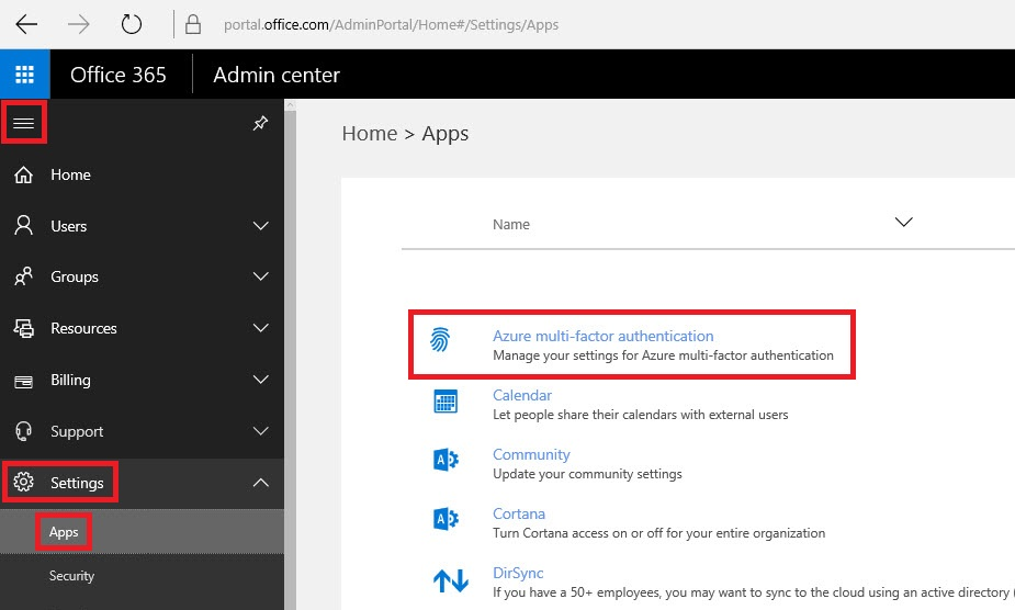Office 365 Multi-Factor Authentication 1