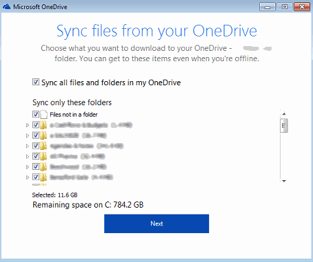 OneDrive Upgrade 6