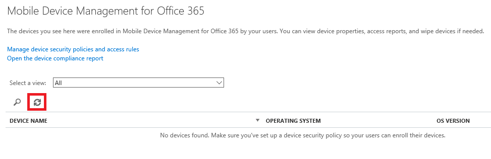Office 365 Perform Selective Wipe 5