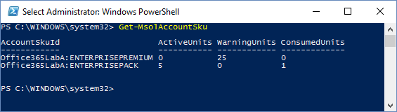PowerShell Managing Subscriptions 1