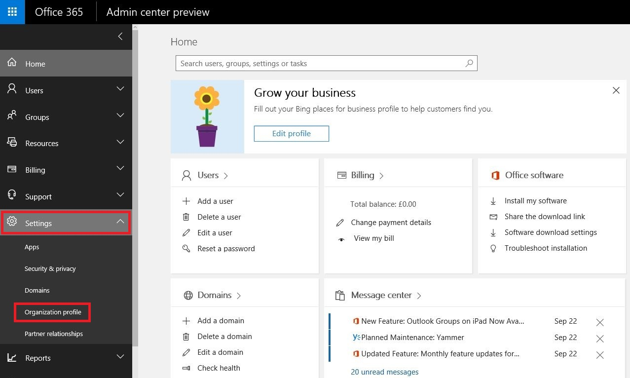 office365-enable-early-release-and-try-new-features-first-1