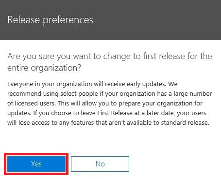 office365-enable-early-release-and-try-new-features-first-5