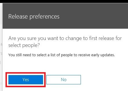 office365-enable-early-release-and-try-new-features-first-8