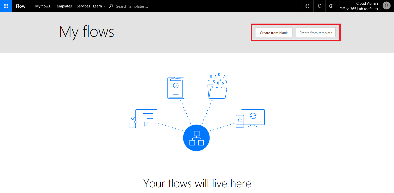 Office 365 What is Flow and how to send an SMS when you receive an