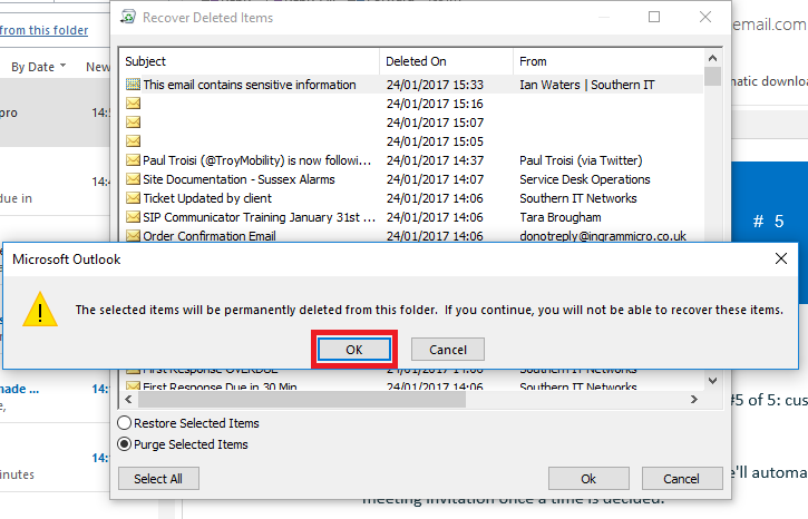 Office365 How to prevent users from permanently deleting