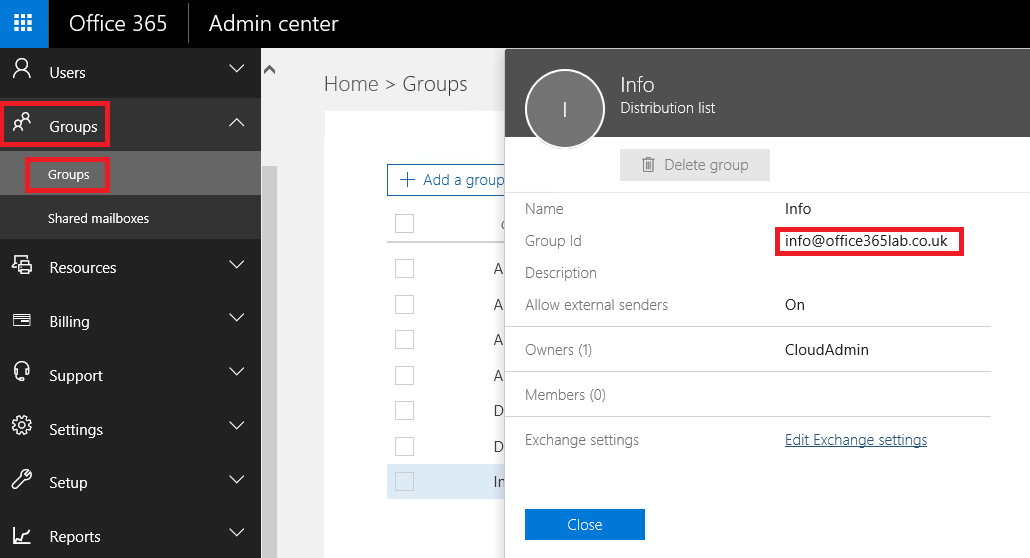 How to Sync an Existing Office365 Tenant into a New Active