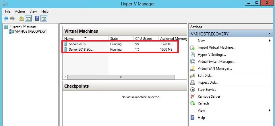 SolarWinds MSP Backup Hyper-V or not to Hyper-V | SlashAdmin