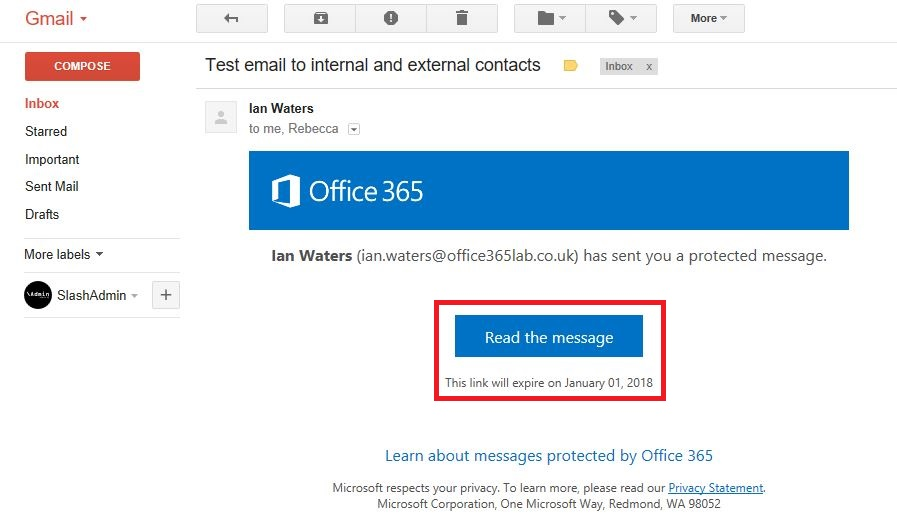 Exploring The New Office 365 Email Protection and Encryption Options