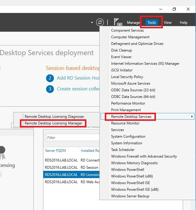 How to Setup a Single Server RDS Deployment Using Server
