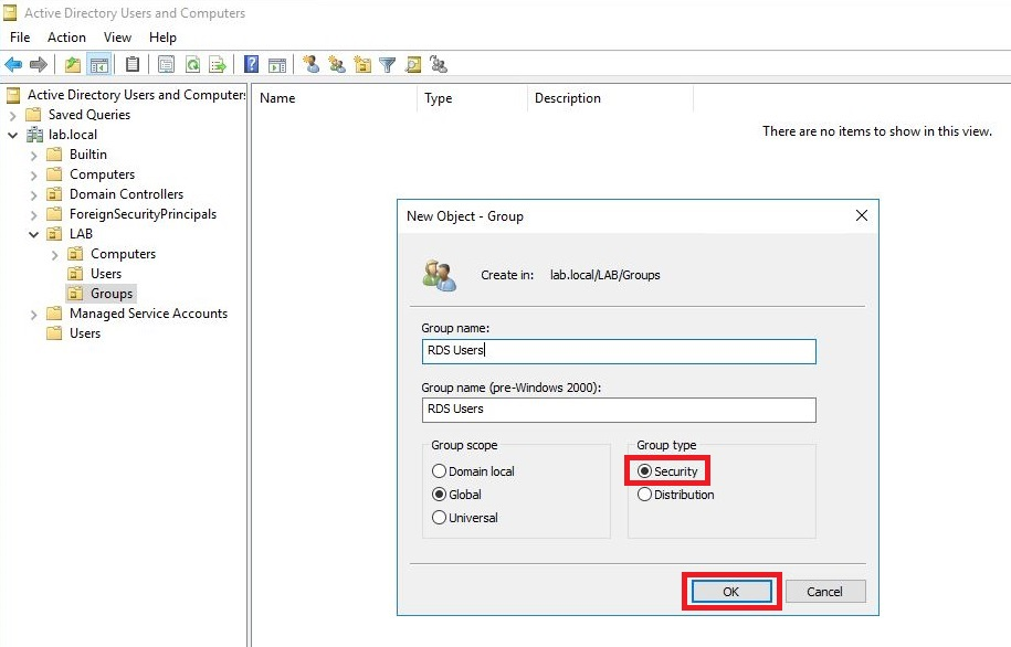 How to Setup a Single Server RDS Deployment Using Server