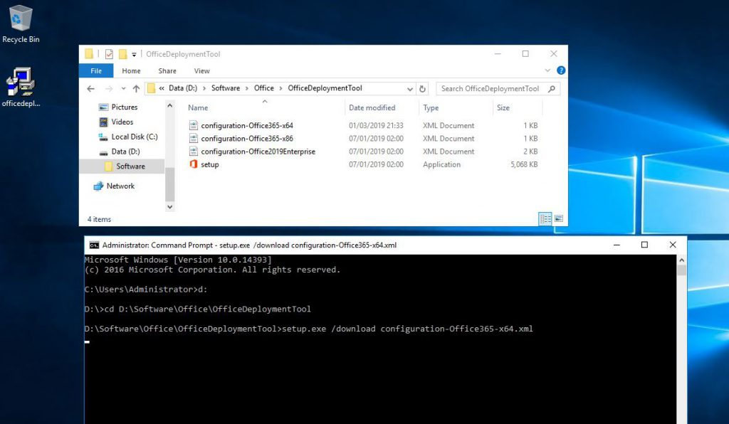 How to Deploy Office 365 Applications From a Server Share