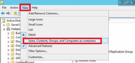 Active Directory Object Contains Other Objects  Are you sure