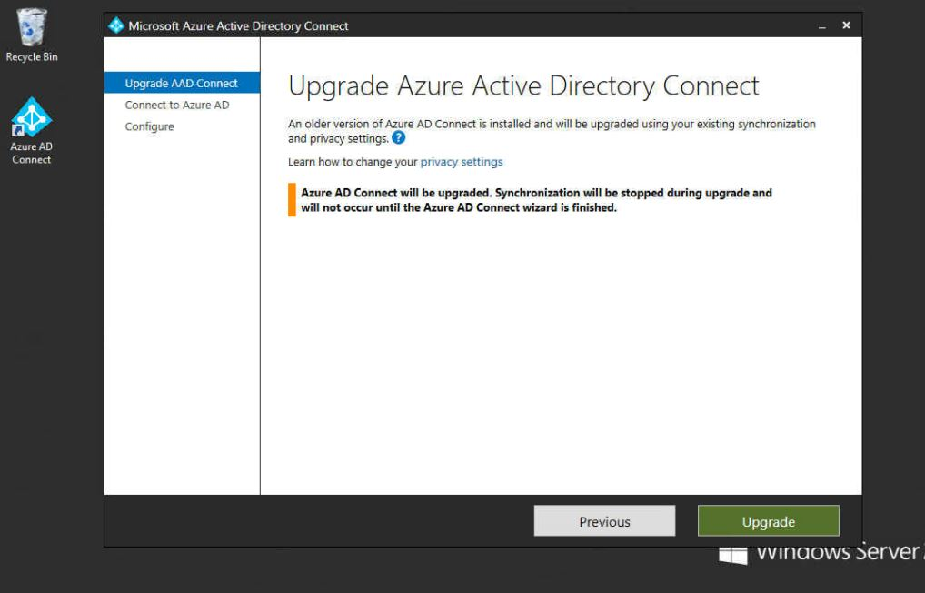 How To Upgrade Azure AD Connect Software | SlashAdmin \ Life in IT