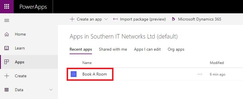 Office 365 Room Booking System Using Power Apps | SlashAdmin \ Life