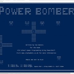 PowerShell Games Power Bomber