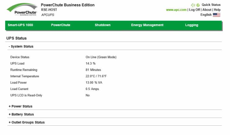 How to Reset PowerChute Business Edition Password