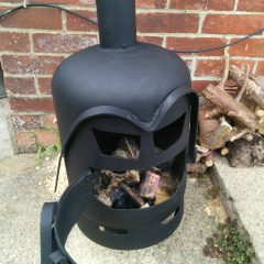Off Topic: Making A Darth Vader Wood Burner