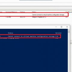 Cant Remove Hyper-V VM Cannot Connect to Virtual Machine Configuration Storage