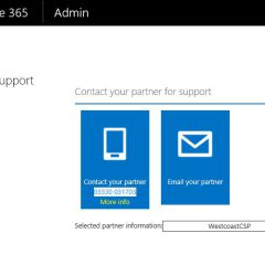 Office 365: Can't log a support case via the portal?