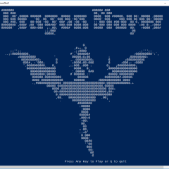 How to make a game using PowerShell Old School Style – Dragon Slayer