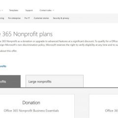 How to Apply for Non Profit and Charity Pricing in Office365