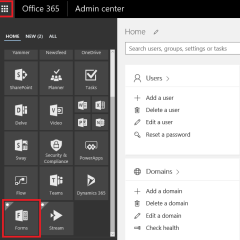 Creating Forms in Office 365