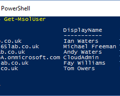 How to List Users in Office 365 Using PowerShell