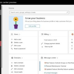 Office365 Enable Early Release and Try New Features First
