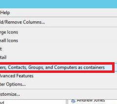 Active Directory Object Contains Other Objects. Are you sure you want to delete object and all of the objects it contains?